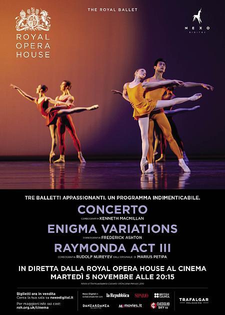 CONCERTO/ENIGMA VARIATIONS/RAYMONDA ACT III